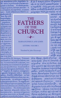Barsanuphius and John: Letters