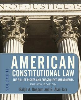 American Constitutional Law 8E, 2-VOL SET: 2-VOLUME SET