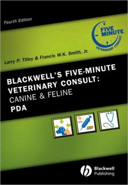 Blackwell's Five-Minute Veterinary Consult: Canine and Feline PDA