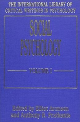 Social Psychology (Vol. 1)