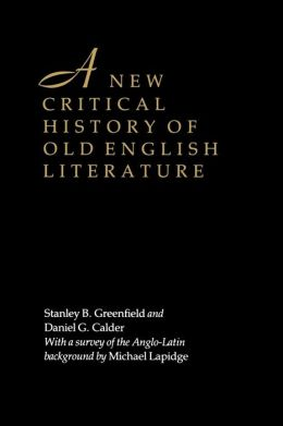 New Critical History Of Old Eng. Lit