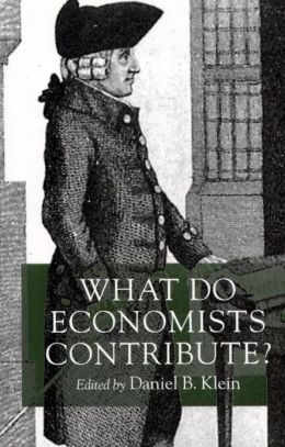 What Do Economists Contribute?