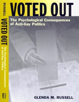 Voted Out: The Psychological Consequences of Anti-Gay Politics