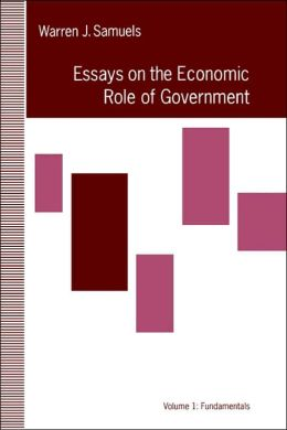 Essays in the Economic Role of Government: Fundamentals