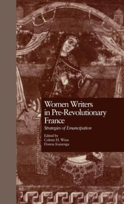 Women Writers In Pre-Revolutionary France