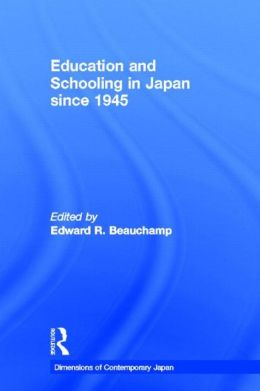 Education and Schooling in Japan since 1945