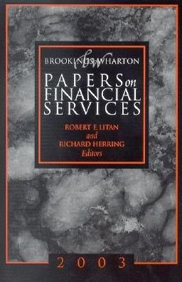 Papers on Financial Services, 2003