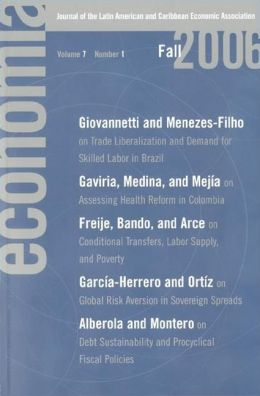 Economia, Volume 2 Number 1: Journal of the Latin American and Caribbean Economic Association