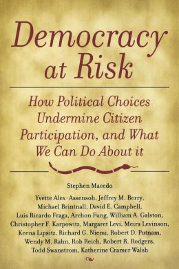Democracy at Risk: How Political Choices Undermine Citizen Participation and What We Can Do about It