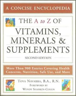 A to Z of Vitamins, Minerals and Supplements