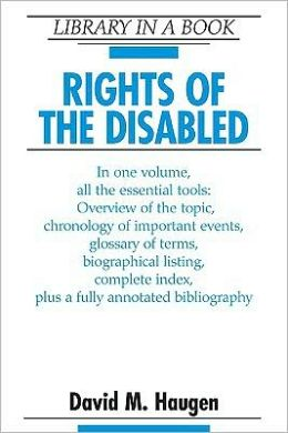Rights of the Disabled