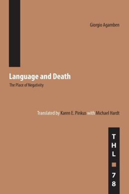 Language and Death: The Place of Negativity