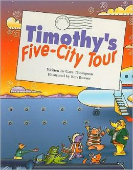 Steck-Vaughn Pair-It Books Fluency Stage 4: Student Reader Timothy's Five-City Tour , Story Book