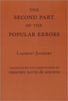 The Second Part of the Popular Errors