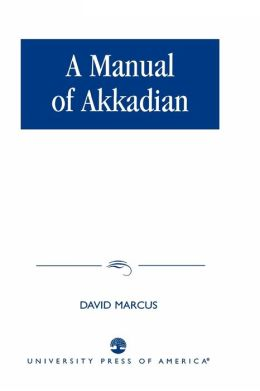 Manual Of Akkadian