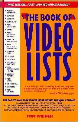 Book of Video Lists 1991
