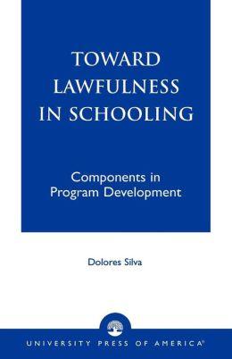Toward Lawfulness in Schooling