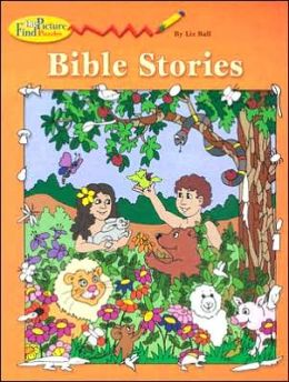 Bible Stories: Find-the-Picture Puzzles