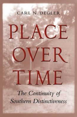 Place Over Time: The Continuity of Southern Distinctiveness