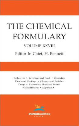 The Chemical Formulary, Volume 28