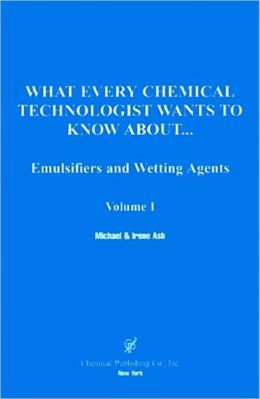 Emulsifier And Wetting Agents