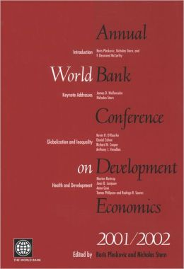 Annual World Bank Conference on Development Economics 2001/2002