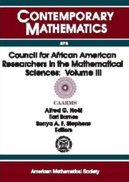 Council for African American Researchers in the Mathematical Sciences