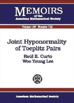 Joint Hyponormality of Toeplitz Pairs