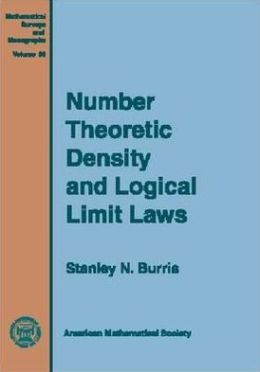 Number Theoretic Density and Logical Limit Laws