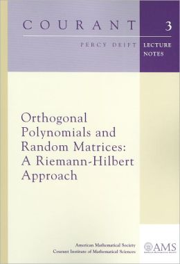 Orthogonal Polynomials and Random Matrices: A Riemann-Hilbert Approach