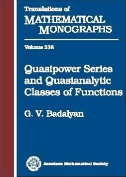 Quasipower Series and Quasianalytic Classes of Functions