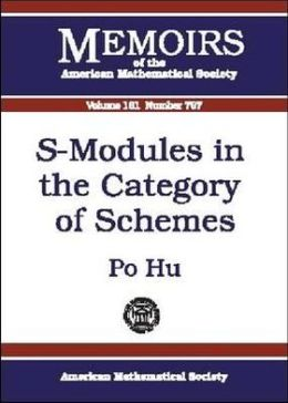S-Modules in the Category of Schemes