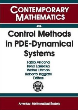 Control Methods in Pde-Dynamical Systems