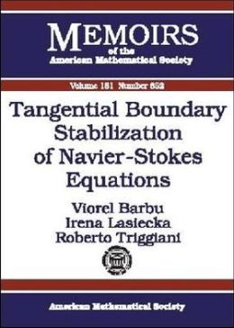 Tangential Boundary Stabilization of Navier-Stokes Equations