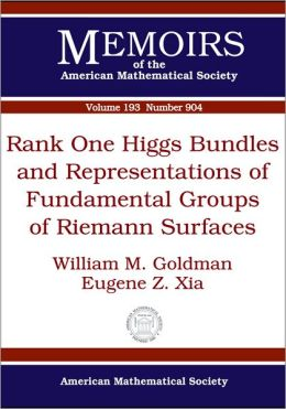Rank One Higgs Bundles and Representations of Fundamental Groups of Riemann Surfaces