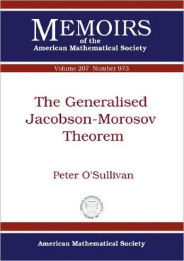 The Generalised Jacobson-Morosov Theorem
