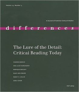 The Lure of the Detail: Close Reading Today