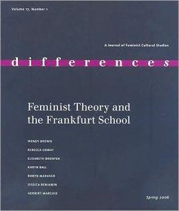 Feminist Theory and the Frankfurt School