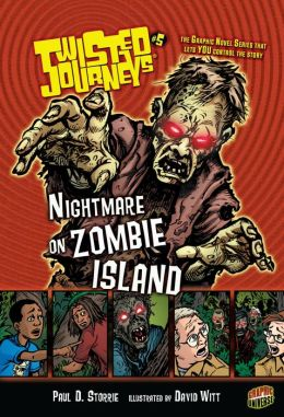 Nightmare on Zombie Island (Twisted Journeys Series #5)