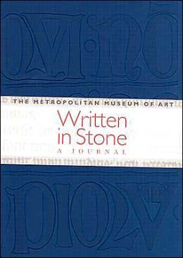 Written in Stone - Blue: 13th-century medieval Writing