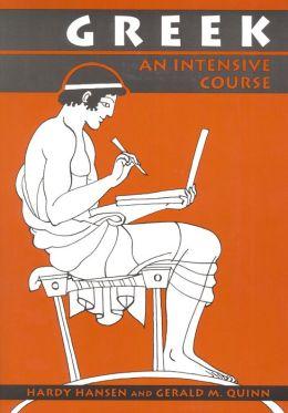 Greek: An Intensive Course