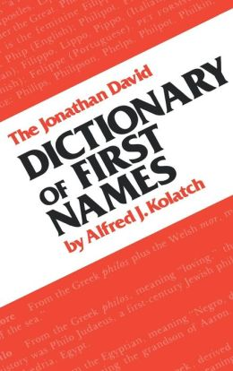 The Dictionary of First Names