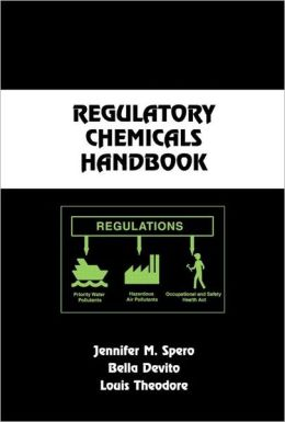 Regulatory Chemicals Handbook