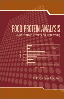 Food Protein Analysis: Qualitative Effects on Processing