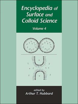 Encyclopedia of Surface and Colloid Science - Volume 4 of 4 (Print) Arthur T. Hubbard