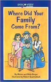 Where Did Your Family Come From? (Discovery Readers Series): A Book about Immigrants