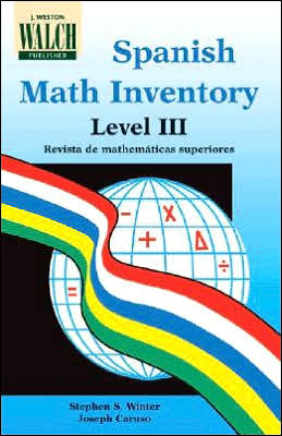 Spanish Math Inventory, Level III