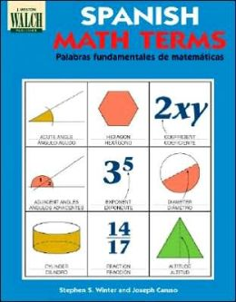 Spanish Math Terms: A Bilingual Illustrated Guide