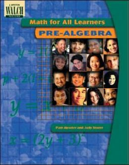 Math for All Learners: Pre-Algebra