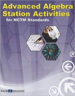 Station Activities Algebra II (Available Spring 2011)
